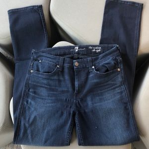 7 for all mankind jeans, 30, The Modern Straight
